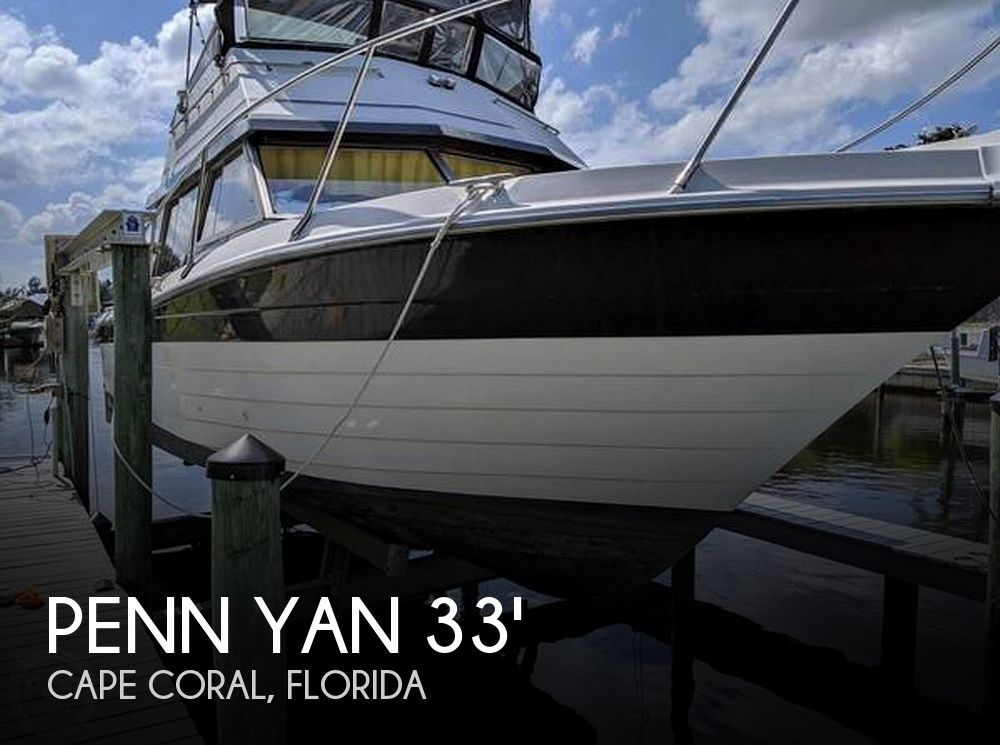1990 Penn Yan boat for sale, model of the boat is 339 Commander & Image # 1 of 40