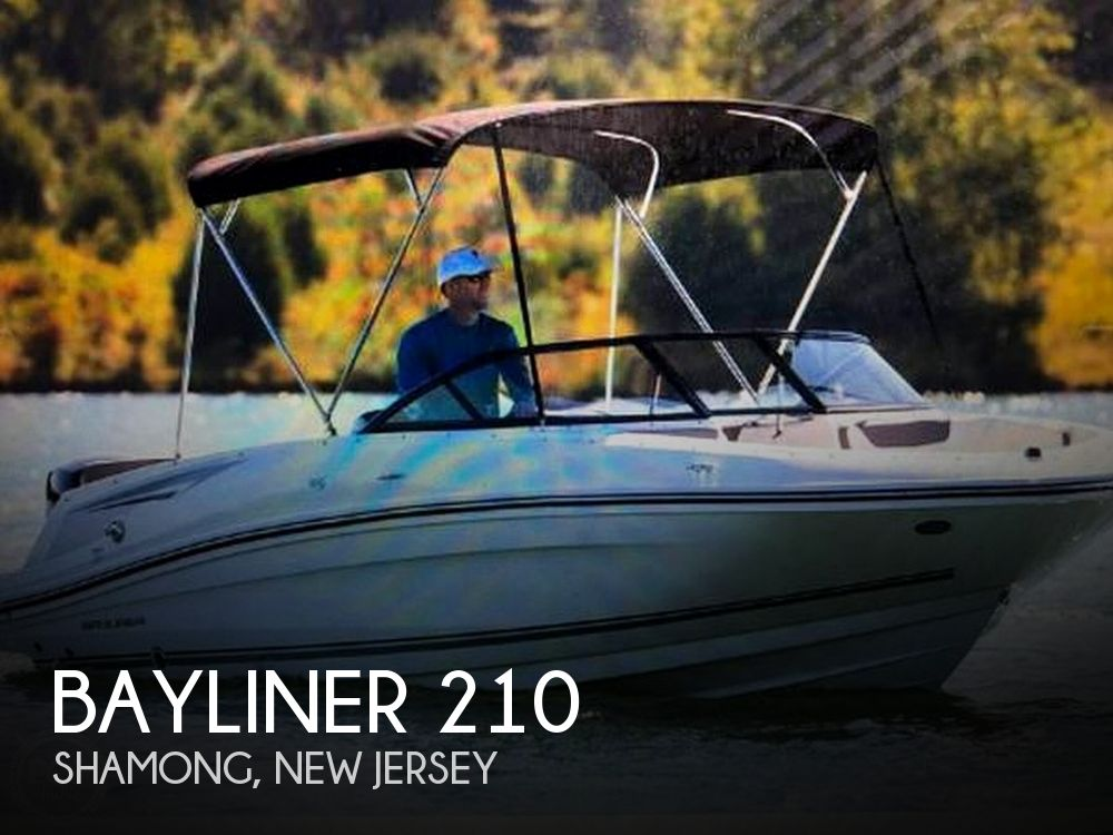 Used Bayliner Deck Boats For Sale by owner | 2017 Bayliner 210 Deck Boat