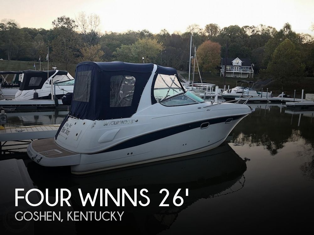 Used Four Winns 26 Boats For Sale by owner | 2002 Four Winns Vista 268