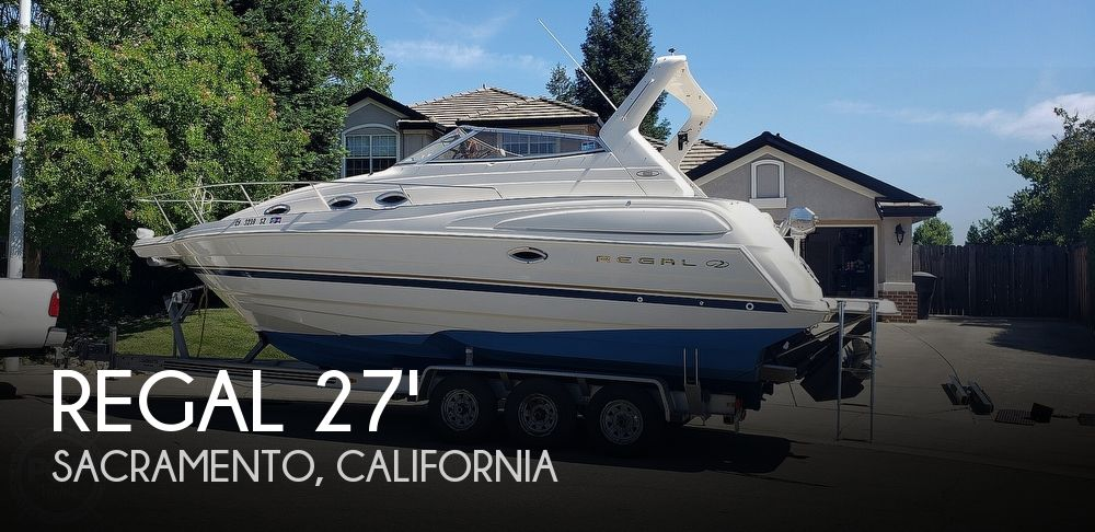 Used Regal Boats For Sale in California by owner | 2001 Regal 2760 Commodore