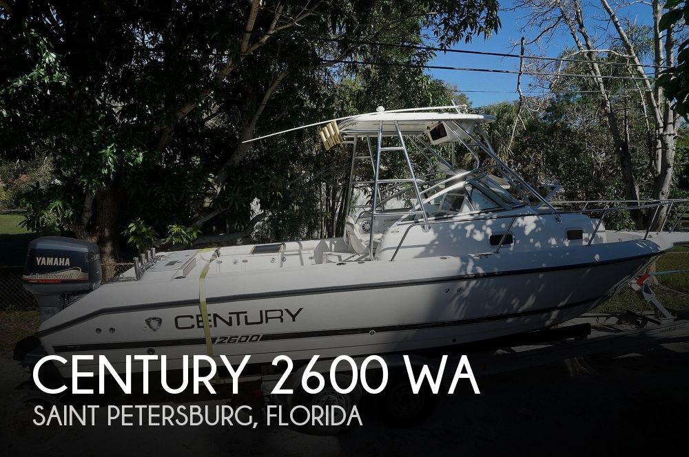 2001 Century boat for sale, model of the boat is 2600 WA & Image # 1 of 40