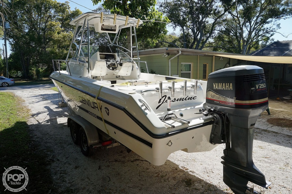 2001 Century boat for sale, model of the boat is 2600 WA & Image # 24 of 40