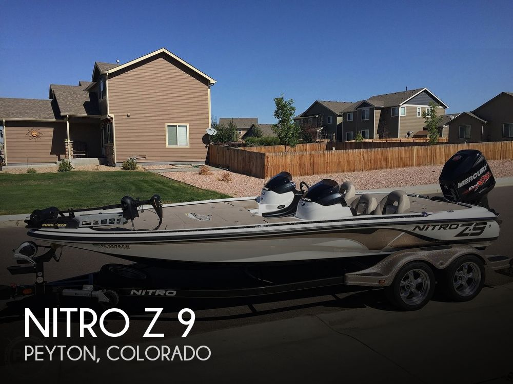 Used NITRO Z 9 Boats For Sale by owner | 2014 Nitro Z 9