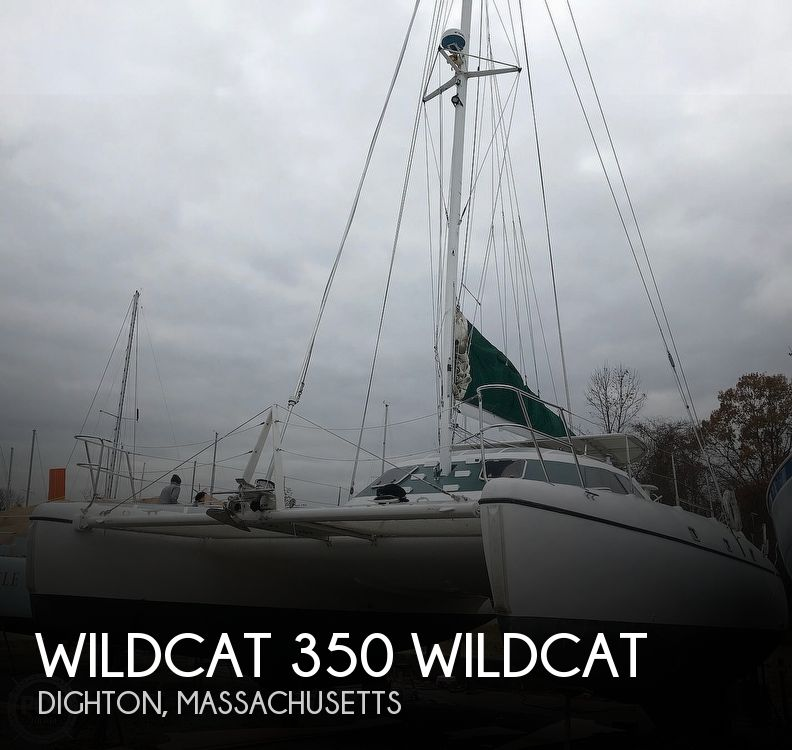 1999 Wildcat boat for sale, model of the boat is 350 Wildcat & Image # 1 of 40