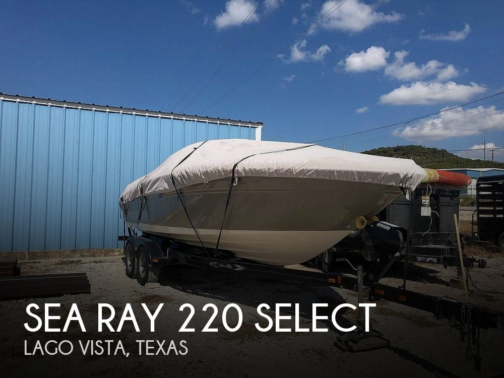 Used Sea Ray 22 Boats For Sale by owner | 2006 Sea Ray 220 Select