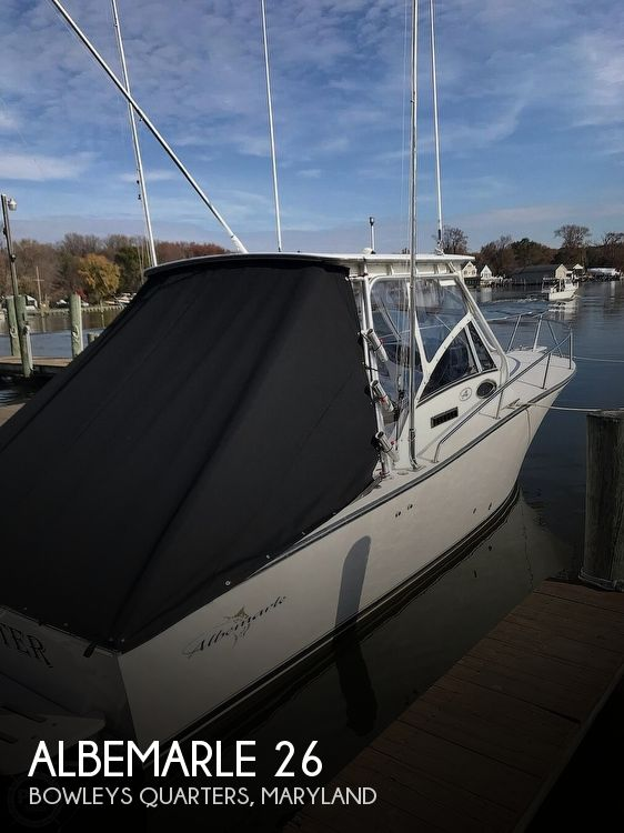 Used Fishing boats For Sale in Maryland by owner | 2002 Albemarle 26