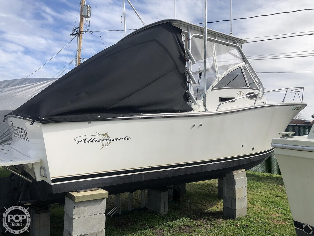 2002 Albemarle boat for sale, model of the boat is 265 Express Fisherman & Image # 8 of 40