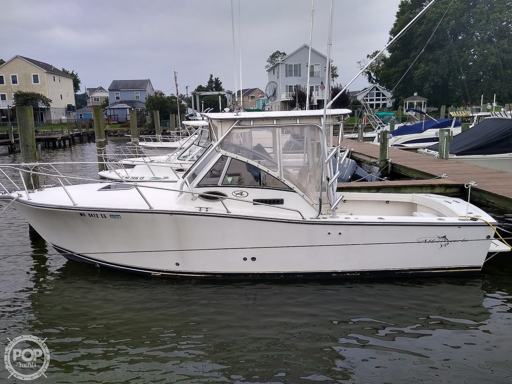 2002 Albemarle boat for sale, model of the boat is 265 Express Fisherman & Image # 3 of 40