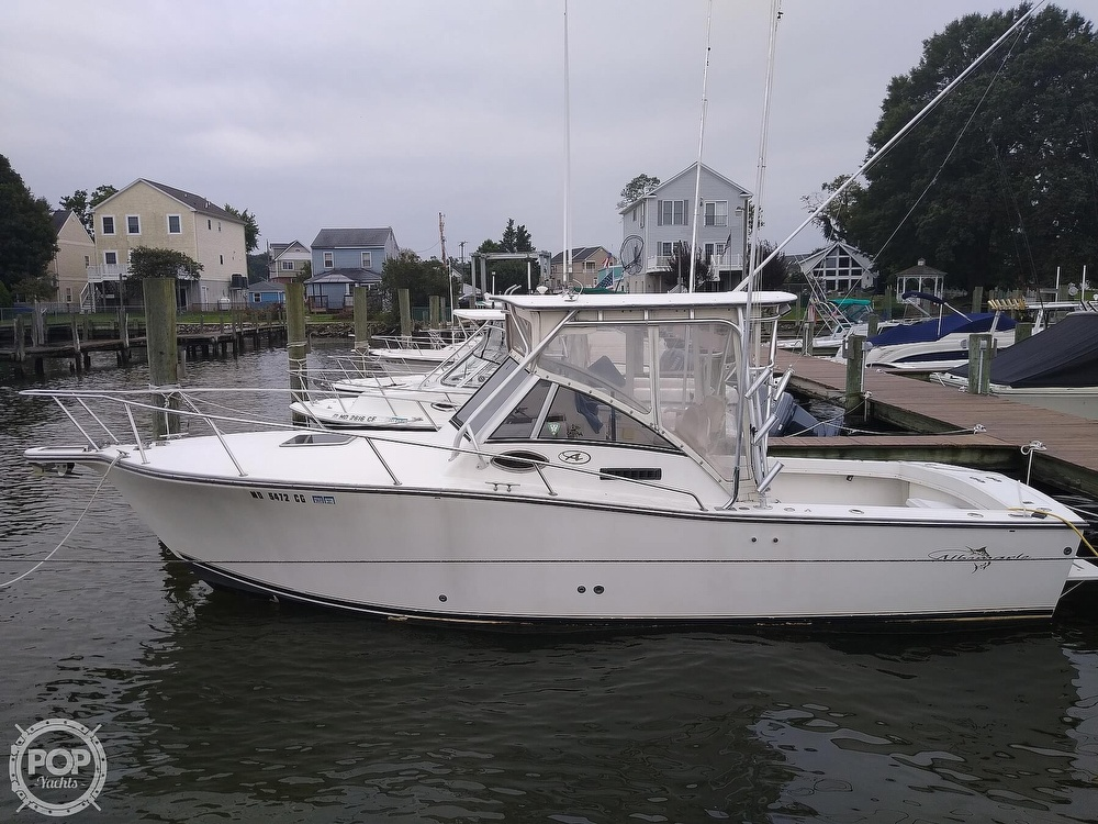 2002 Albemarle boat for sale, model of the boat is 265 Express Fisherman & Image # 4 of 40