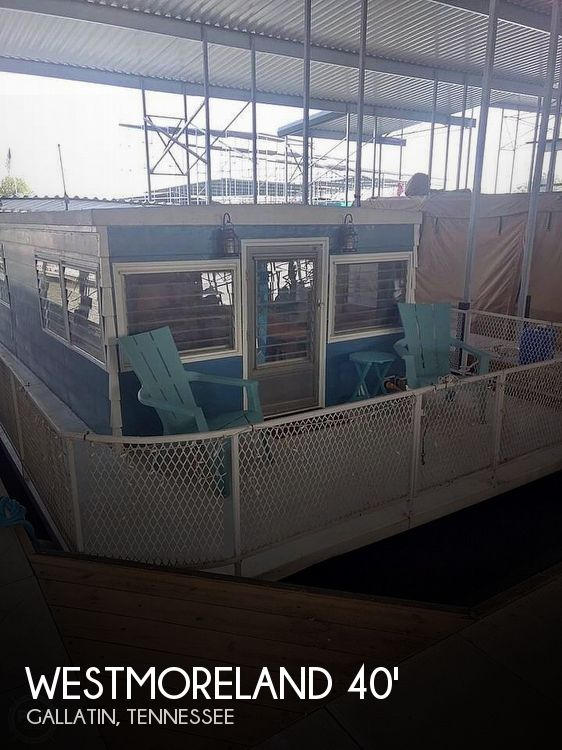 Used Houseboats For Sale in Tennessee by owner | 1965 40 foot Westmoreland Flat Bottom