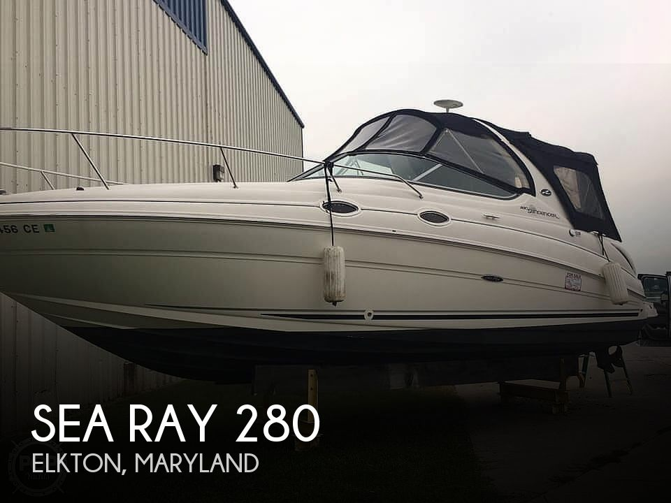Used Sea Ray Boats For Sale in Maryland by owner | 2007 Sea Ray 280 Sundancer