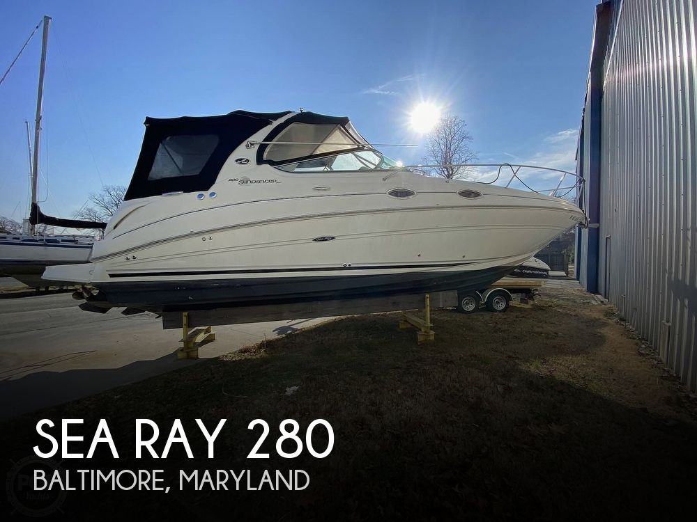 2007 Sea Ray boat for sale, model of the boat is 280 Sundancer & Image # 1 of 40