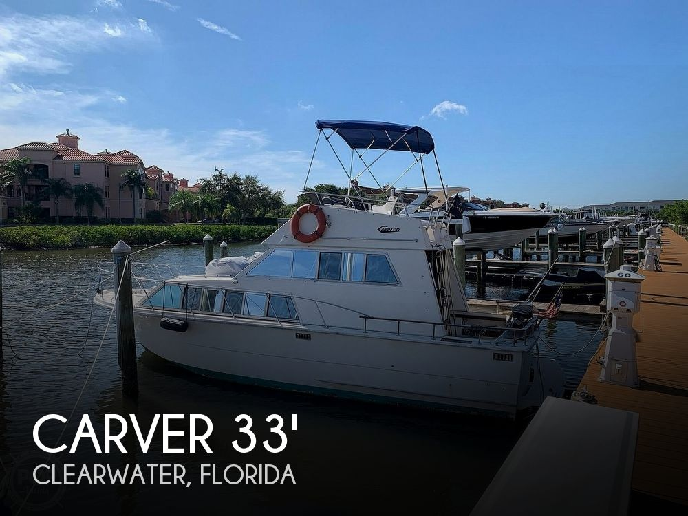 Used Carver 33 Boats For Sale by owner | 1979 Carver 33 foot Voyager