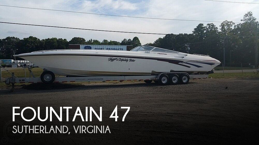 1999 Fountain boat for sale, model of the boat is 47 Lightning & Image # 1 of 40