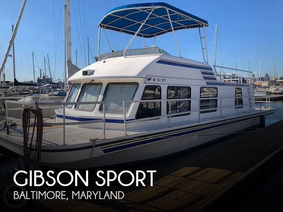 Used Houseboats For Sale in Maryland by owner | 1995 Gibson 41