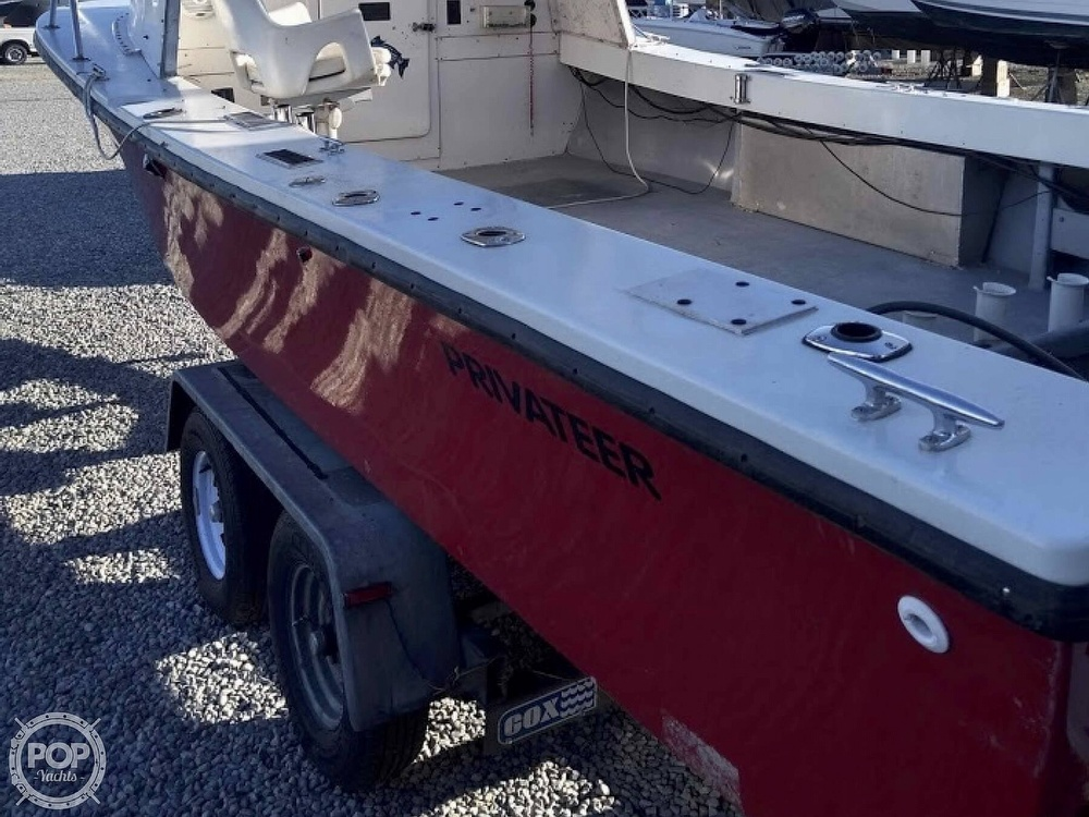 1985 Privateer boat for sale, model of the boat is 22 Open & Image # 5 of 41