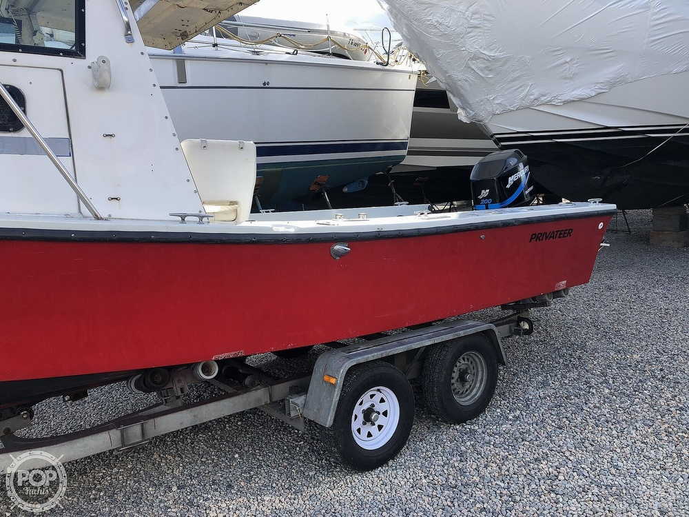 1985 Privateer boat for sale, model of the boat is 22 Open & Image # 15 of 41