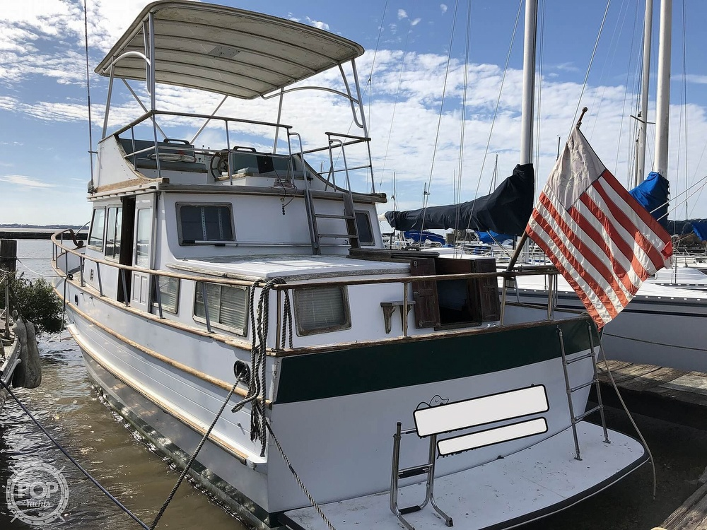 1979 Marine Trader boat for sale, model of the boat is 37 Double Cabin & Image # 2 of 40