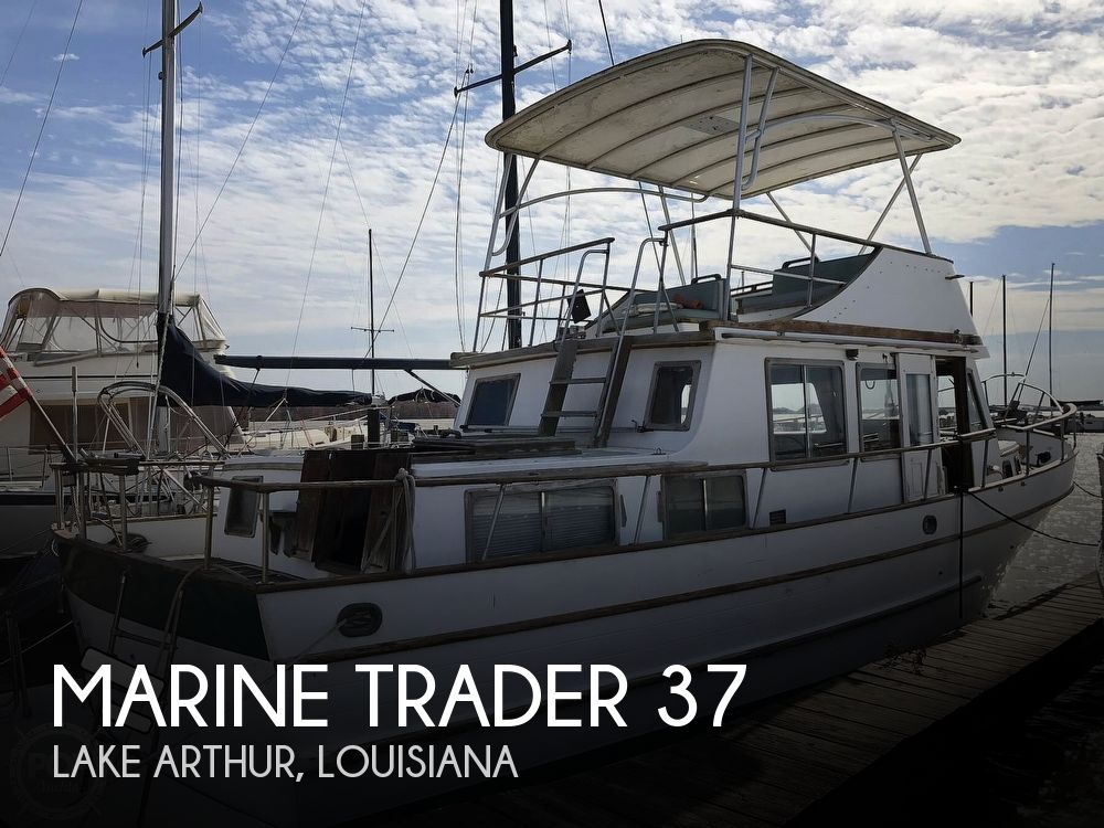 1979 Marine Trader boat for sale, model of the boat is 37 Double Cabin & Image # 1 of 40