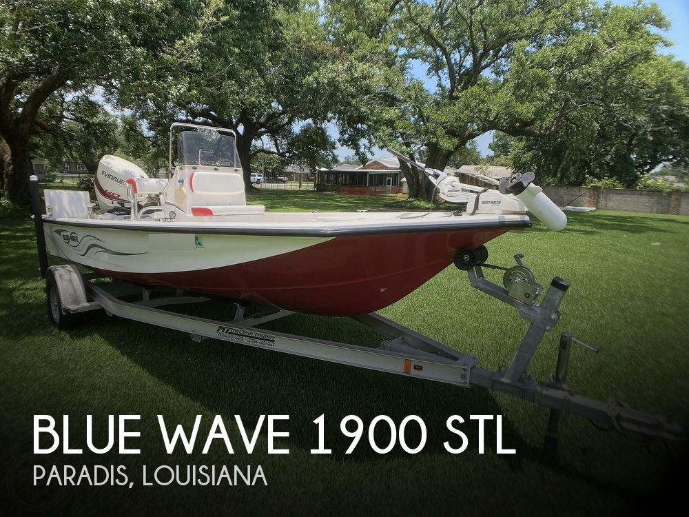 2015 Blue Wave boat for sale, model of the boat is 1900 STL & Image # 1 of 40