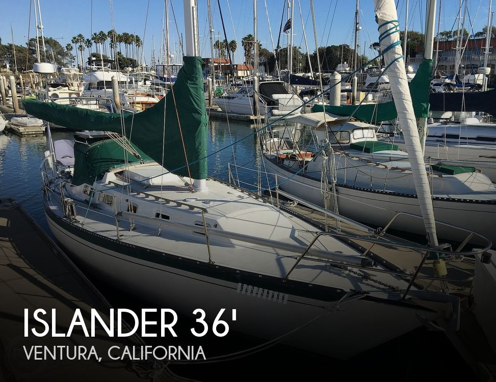 Used Boats For Sale in Santa Maria, California by owner | 1973 Islander 36 Islander