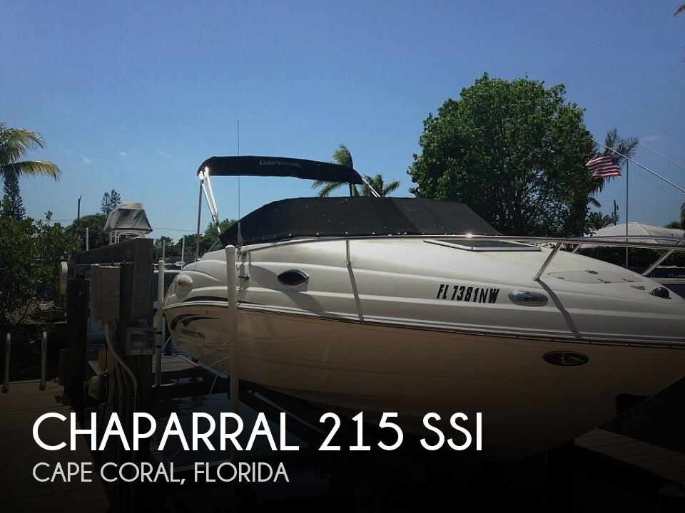 Used Chaparral 215 SSI Boats For Sale by owner | 2008 Chaparral 215 SSI