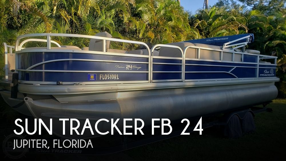 Used Sun Tracker Pontoon Boats For Sale in Florida by owner | 2017 Sun Tracker FB 24