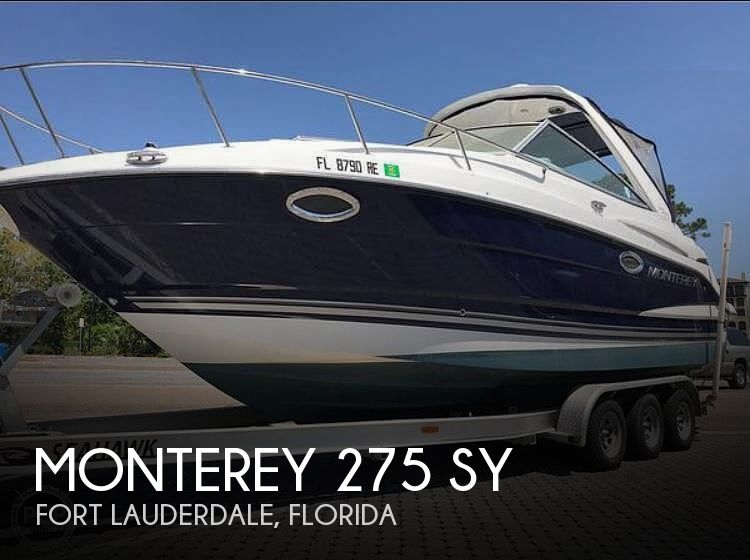 Used Monterey Boats For Sale by owner | 2016 Monterey 275 SY