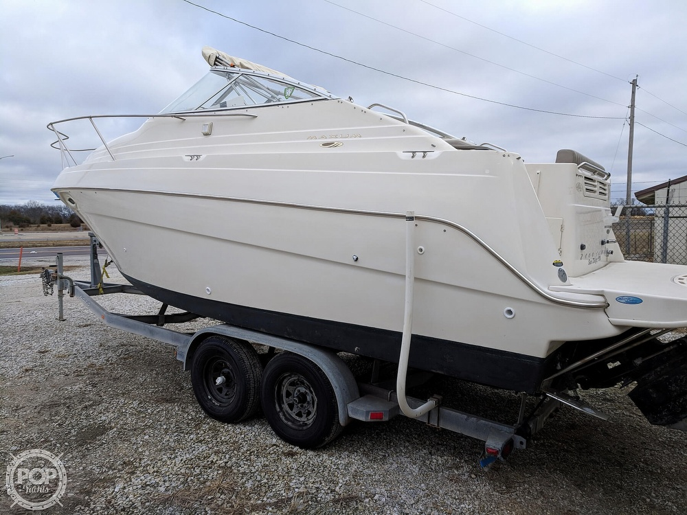 2001 Maxum boat for sale, model of the boat is 2400 SCR & Image # 15 of 40