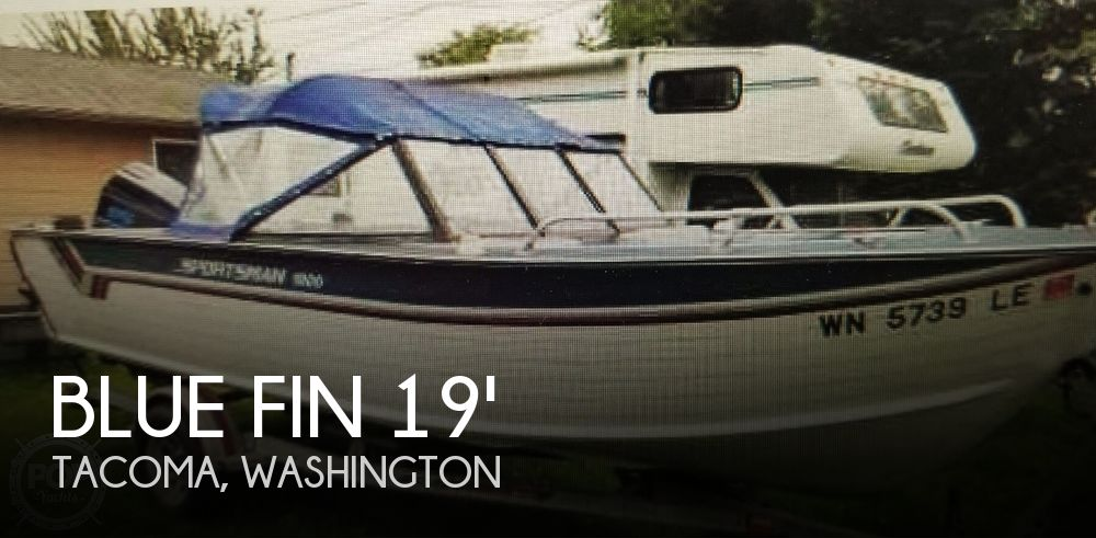 Used Blue Fin Boats For Sale in Washington by owner | 1987 Blue Fin Sprotsman 1900