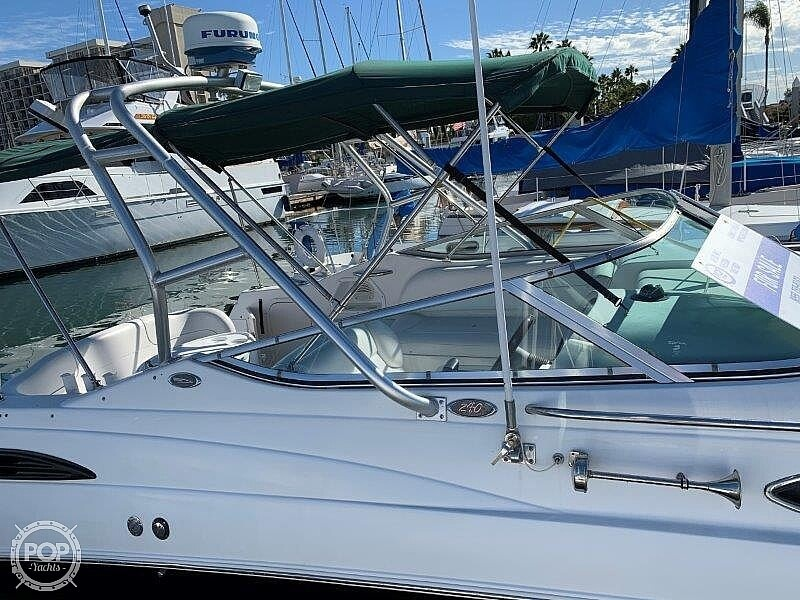 2000 Chaparral boat for sale, model of the boat is Signature 240 & Image # 19 of 40