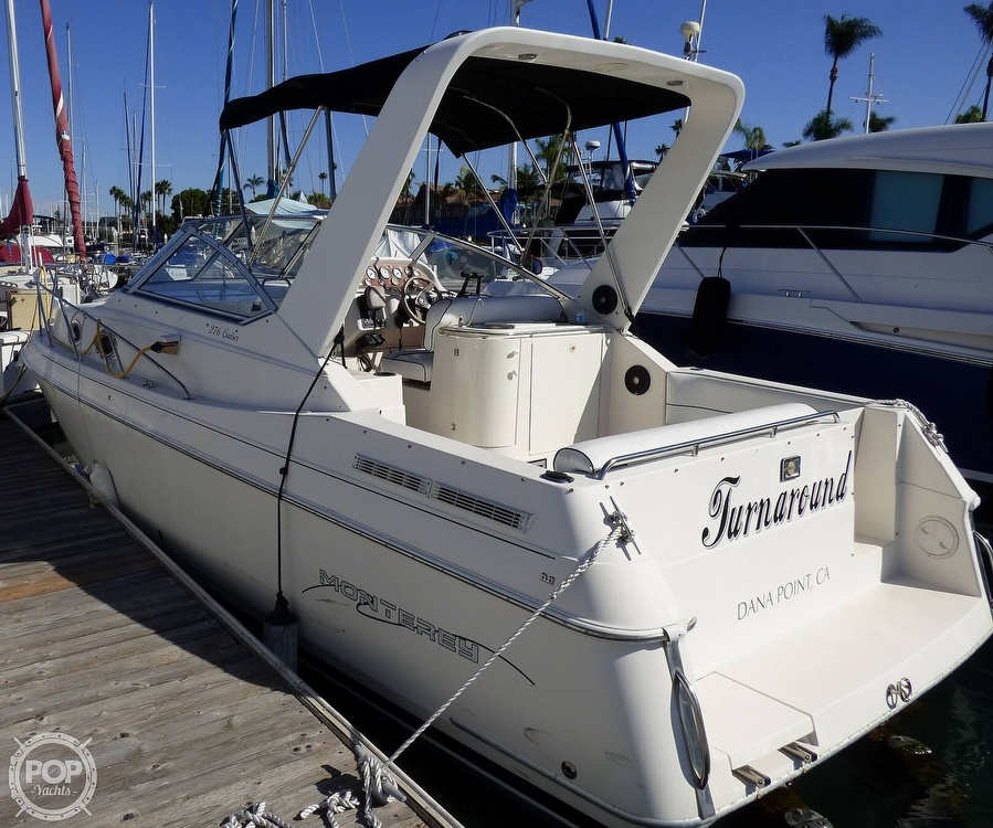 1999 Monterey boat for sale, model of the boat is 276 Cruiser & Image # 2 of 40
