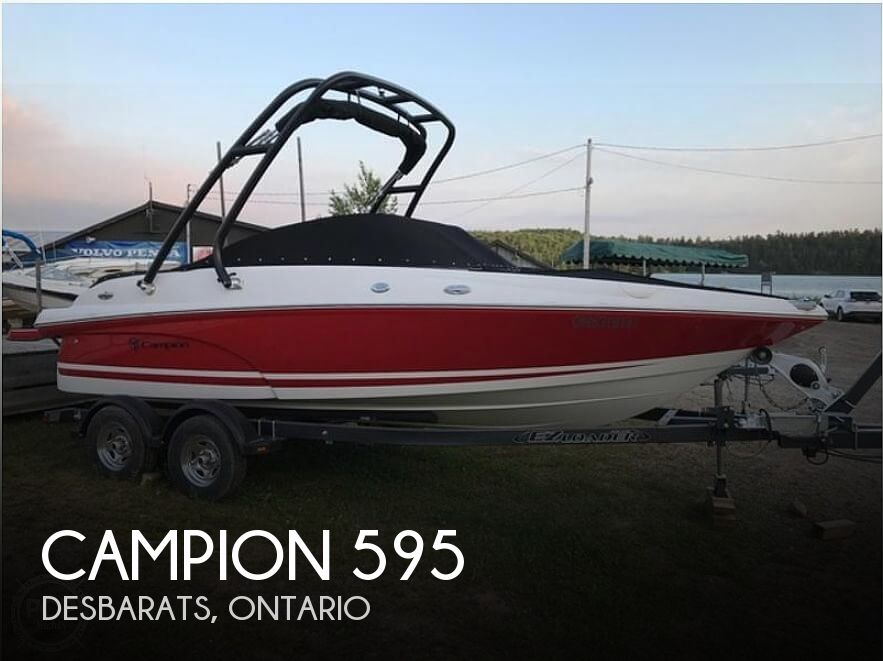 Used Campion  Boats For Sale by owner | 2016 Campion 595 Allante 21
