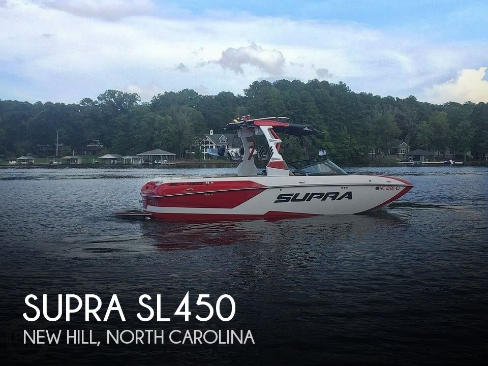 Used Boats For Sale in North Carolina by owner | 2018 Supra Sl450