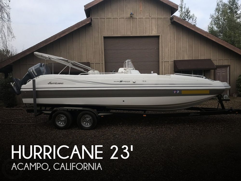 2014 Hurricane boat for sale, model of the boat is 231 Sundeck Sport & Image # 1 of 41