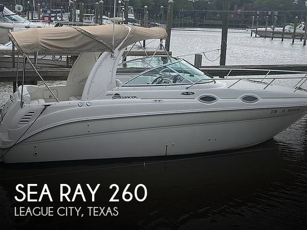 Used Sea Ray Boats For Sale in Texas by owner | 2003 Sea Ray 26