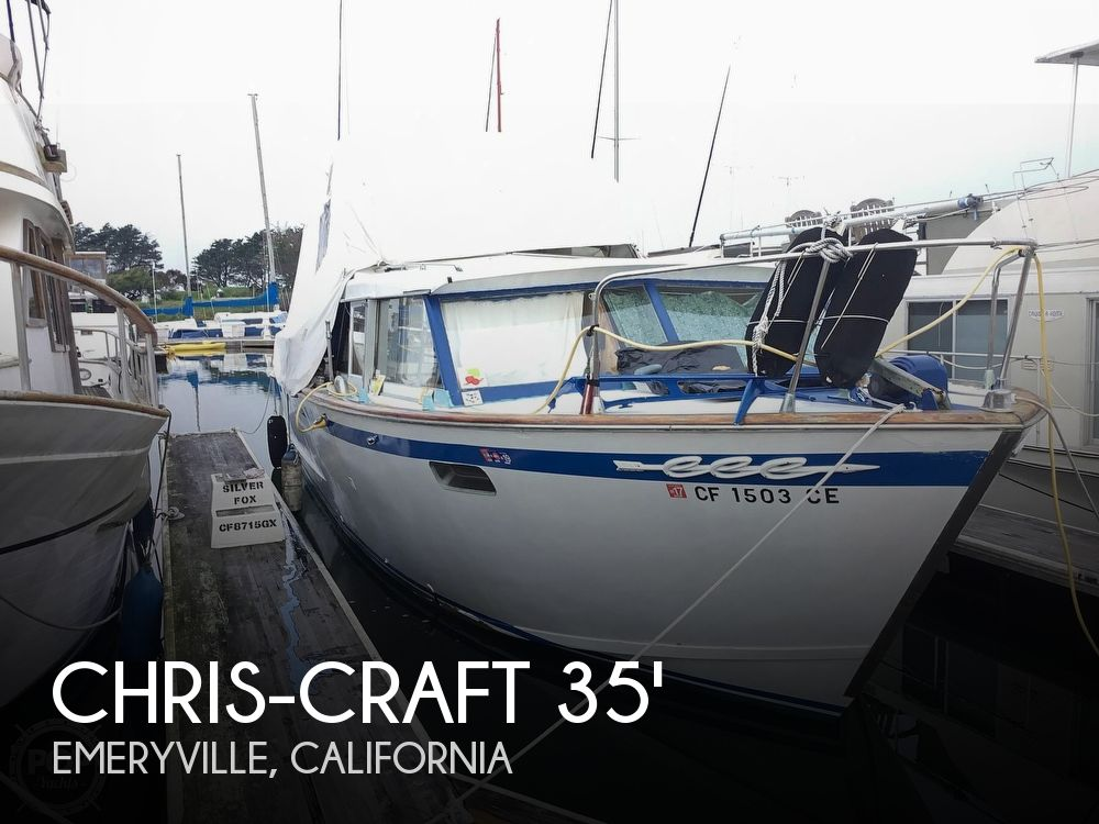 Used Motoryachts For Sale by owner | 1963 Chris-Craft 35