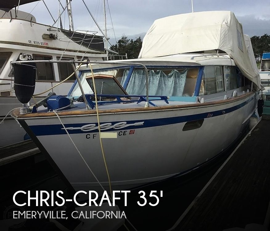 1963 Chris Craft 35 Double Cabin Motoryacht For Sale