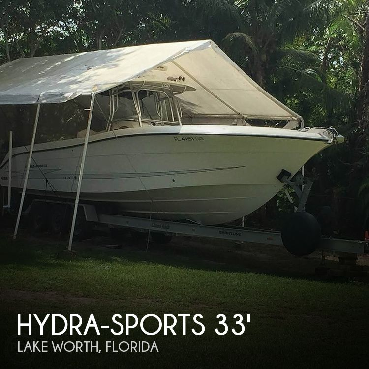 Used Power boats For Sale in Port St. Lucie, Florida by owner | 2007 Hydra-Sports 33 Vector