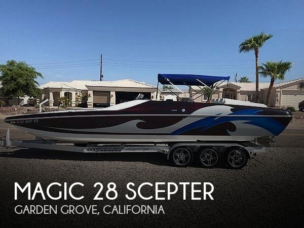 Used Magic Boats For Sale by owner | 2008 Magic 28 Scepter