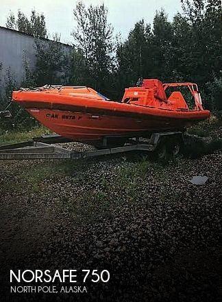 2009 Norsafe boat for sale, model of the boat is Magnum 750 MK & Image # 1 of 3