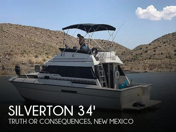 Used Boats For Sale in New Mexico by owner | 1989 Silverton 34