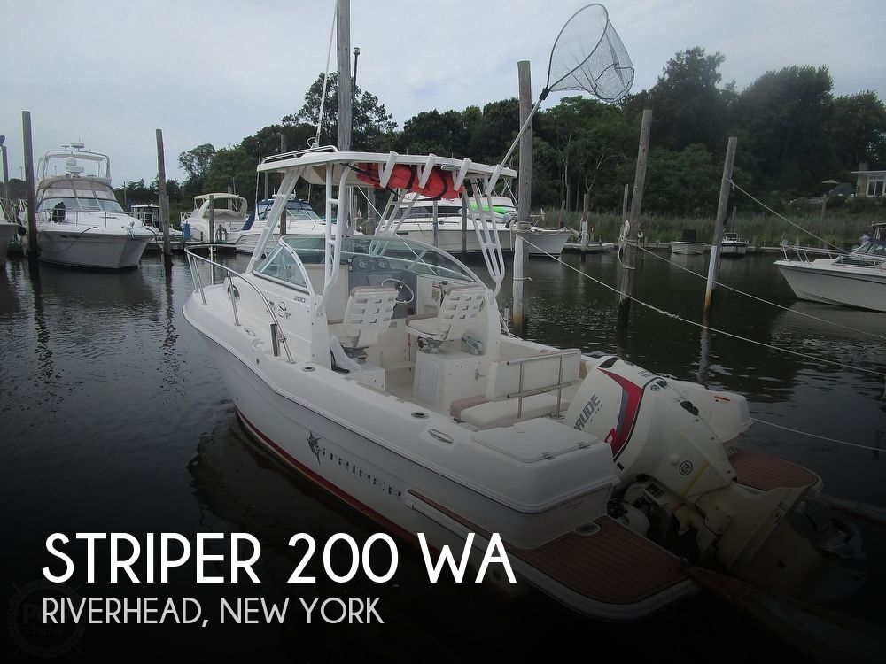 2016 Striper boat for sale, model of the boat is 200 WA & Image # 1 of 40