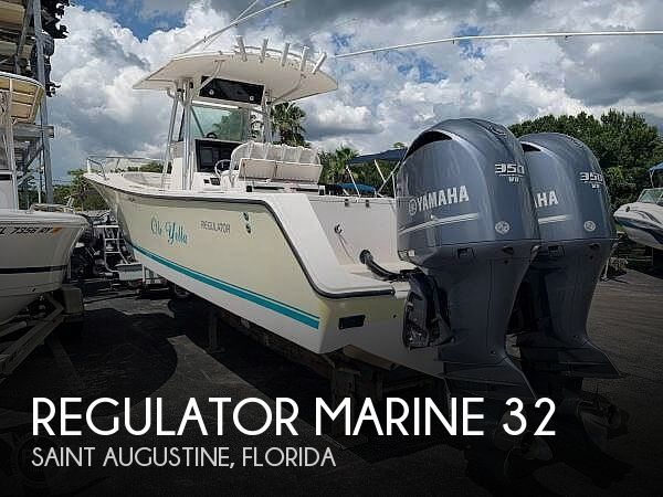 Used Power boats For Sale in Jacksonville, Florida by owner | 2001 Regulator Marine 32