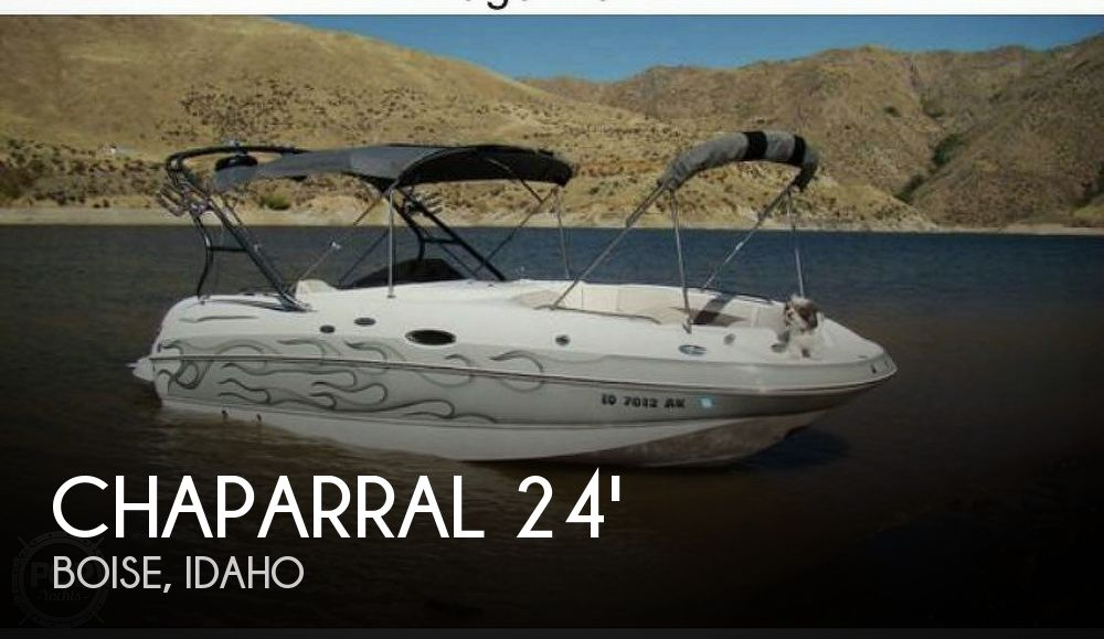 Used Chaparral 32 Boats For Sale by owner | 2005 Chaparral 232 Sunesta