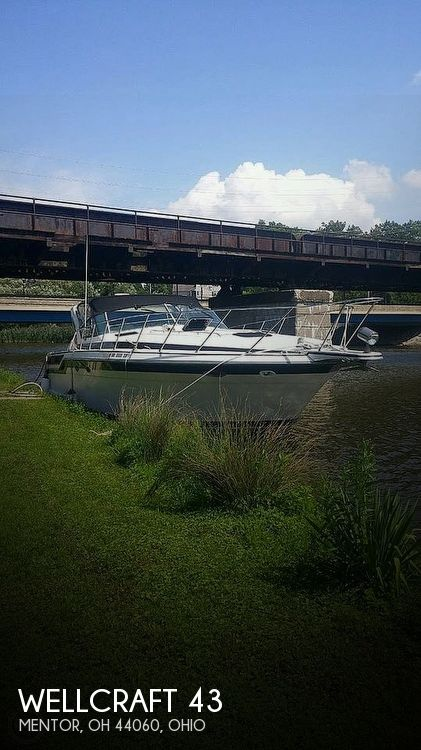 Used Wellcraft Boats For Sale in Ohio by owner | 1987 43 foot Wellcraft Portofino