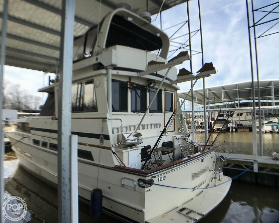 1987 Jefferson boat for sale, model of the boat is Monticello 52 & Image # 3 of 40