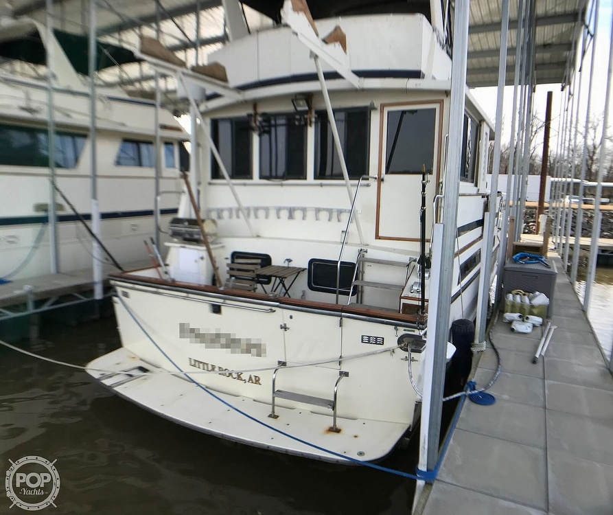 1987 Jefferson boat for sale, model of the boat is Monticello 52 & Image # 4 of 40