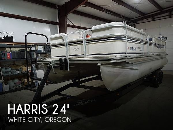 Used Harris Pontoon Boats For Sale by owner | 2005 Harris 240