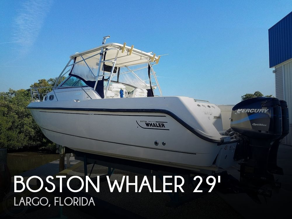 2002 Boston Whaler boat for sale, model of the boat is 295 Conquest & Image # 1 of 40
